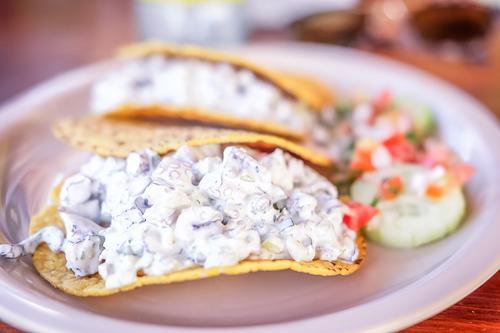 Pulpo tacos in Todos Santos