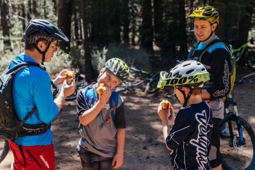 These kids ate so many hotdogs.