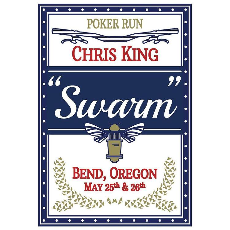 Chris King Swarm in Bend this Weekend