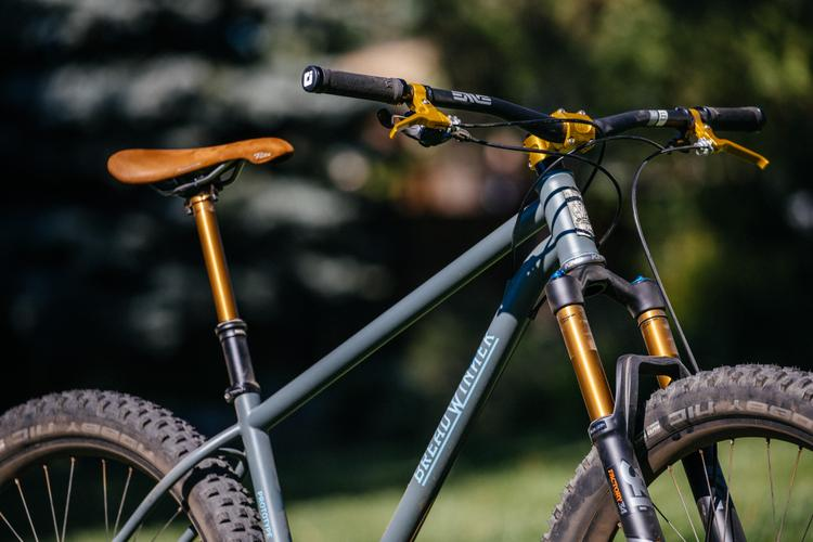 Breadwinner's Rowdy Prototype 27.5+ Hardtail