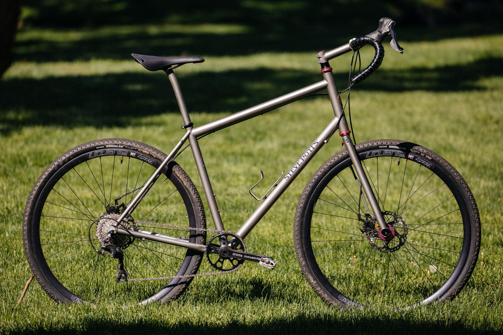 Steve Potts' Personal Titanium All Road Bike