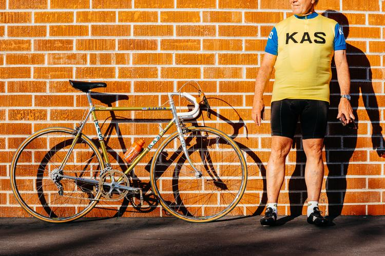 Chuck from Velo Retro's Vitus Kas Team Bike Built with Mavic – Sean Talkington