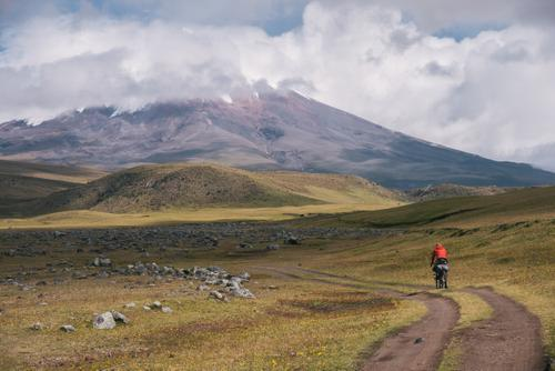 First glimpse of Cotopaxi