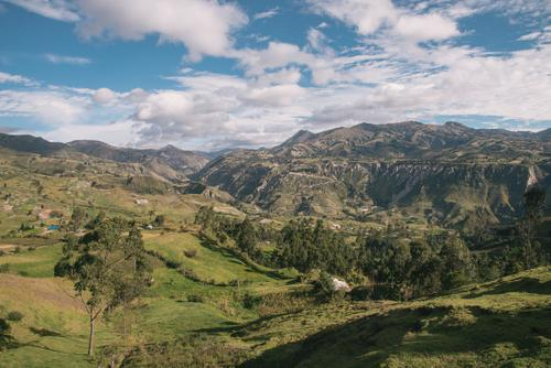 Valley before Quilotoa