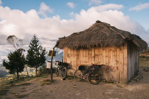refreshment stand near Quilotoa