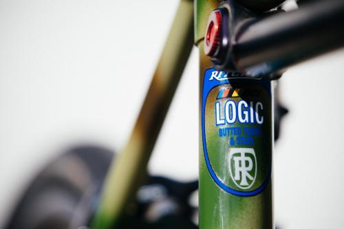 Victor's Ritchey Commando Camo Logic Road with Campagnolo