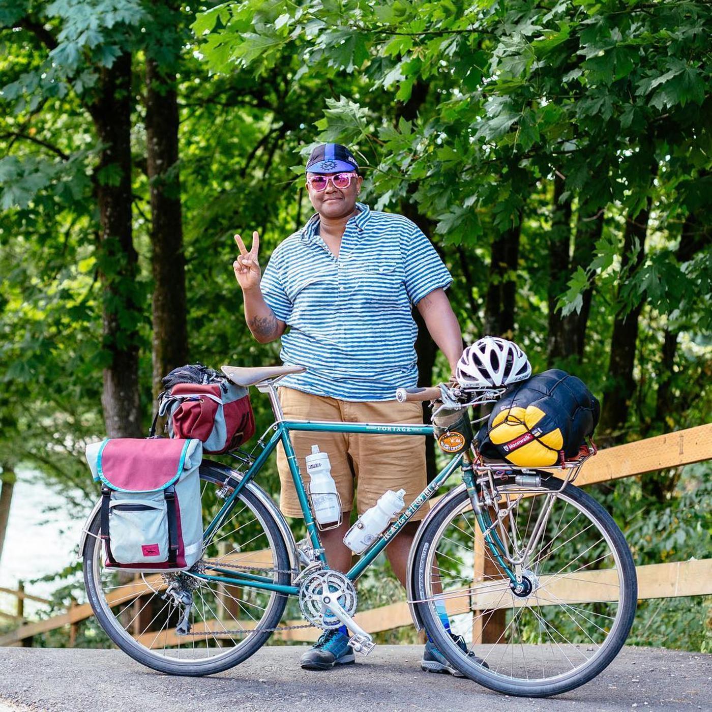 WTF Bikexplorers Honors SJ Brooks