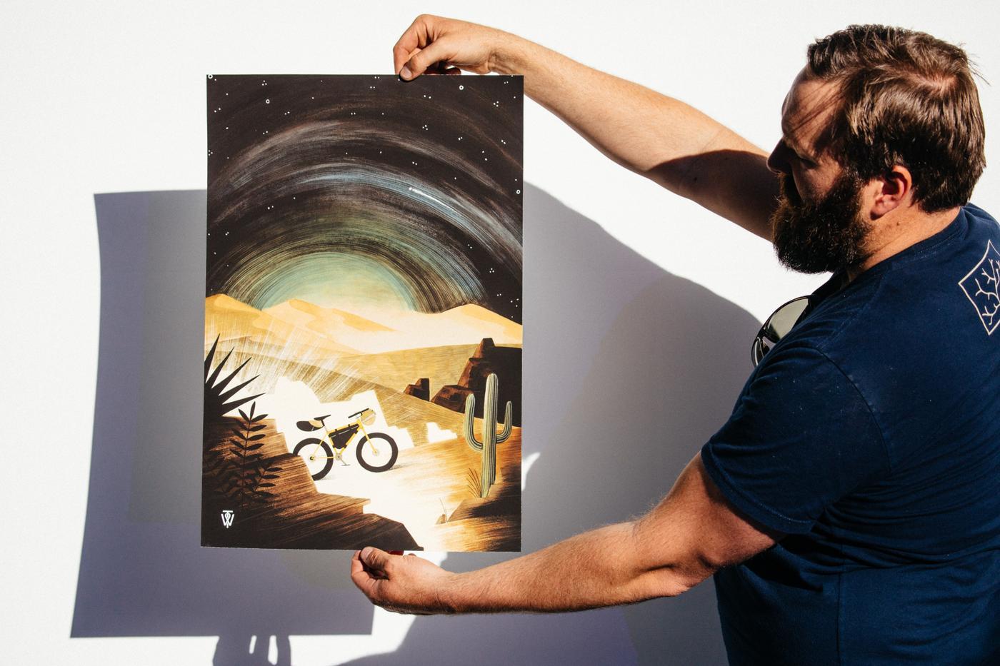 Sean Hipkin's Tumbleweed Prints Available Now Online