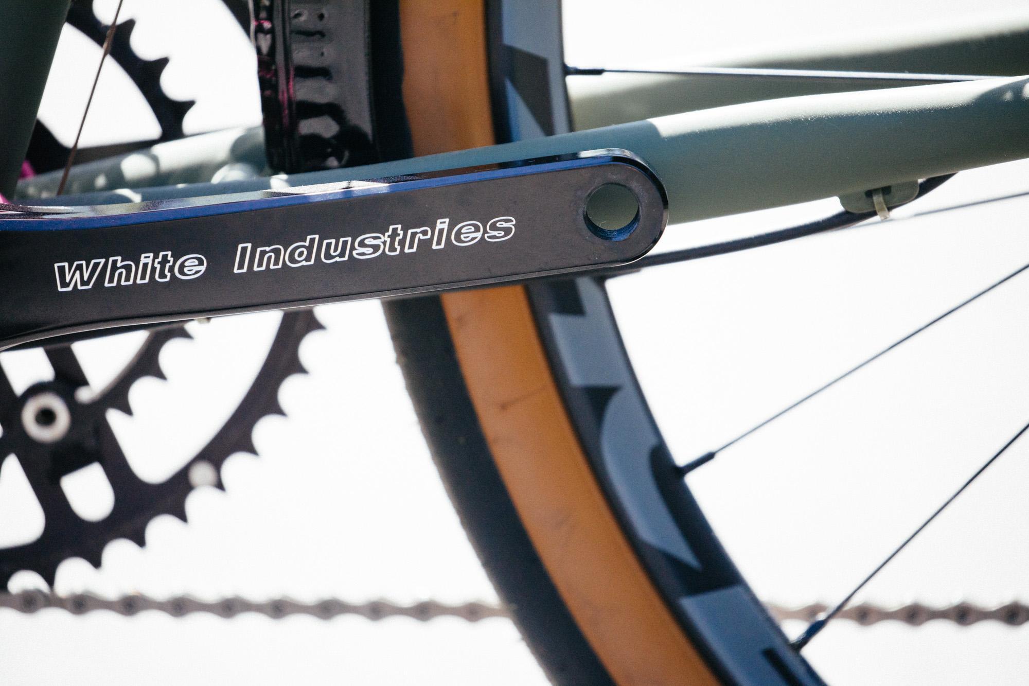 A Sim Works Steel Doppo Chubby Road Bike