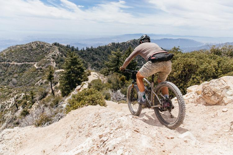 LA Dirt Rides: On San Gabriel Peak a 4,000′ Descent Awaits