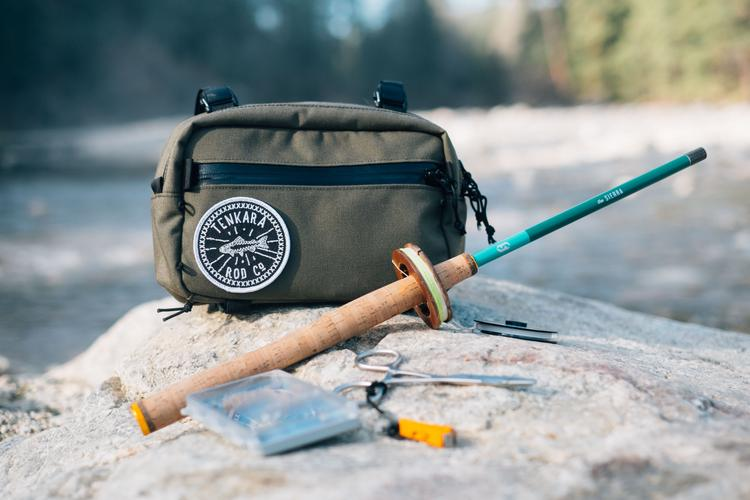 Swift Industries and Tenkara Rod Co Elwha Pack