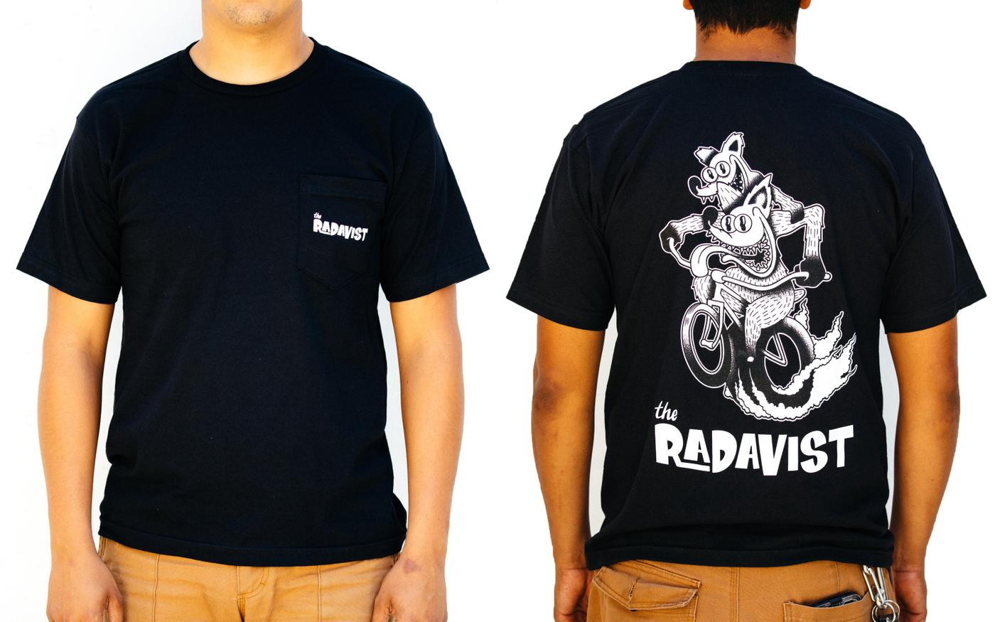 SOLD OUT: Rad Rod Shirt and Bottle Package by Gerald Bowles