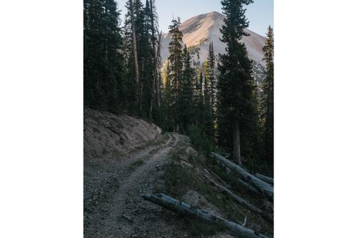 Solo Swift Campout in the Tushar Mountains