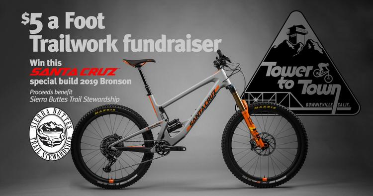 Help the Sierra Trails and Win a Bronson in this Year's $5 a Foot Fundraiser