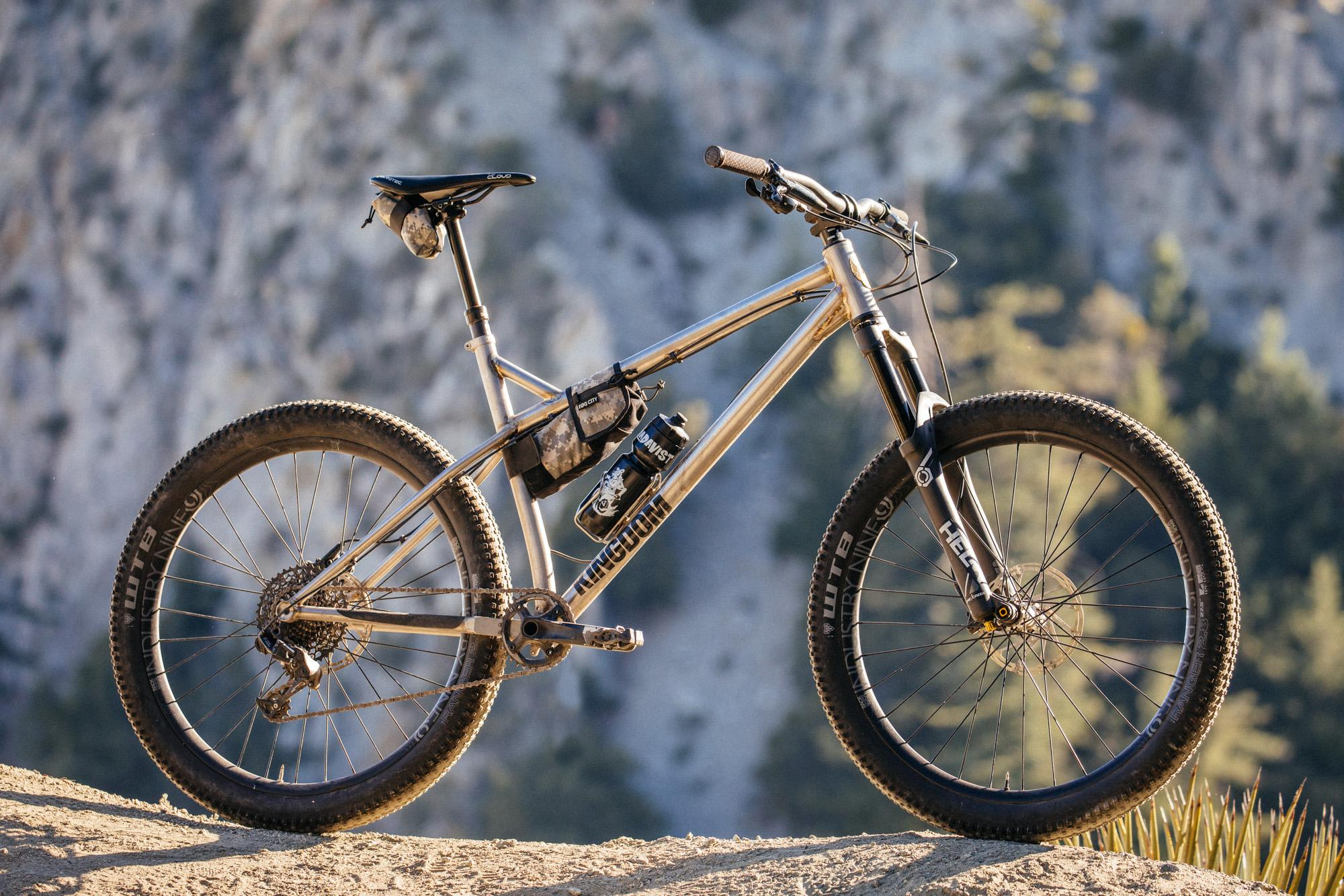 Rule the Mountain on the Kingdom Vendetta X2 Titanium 27.5+ Hardtail