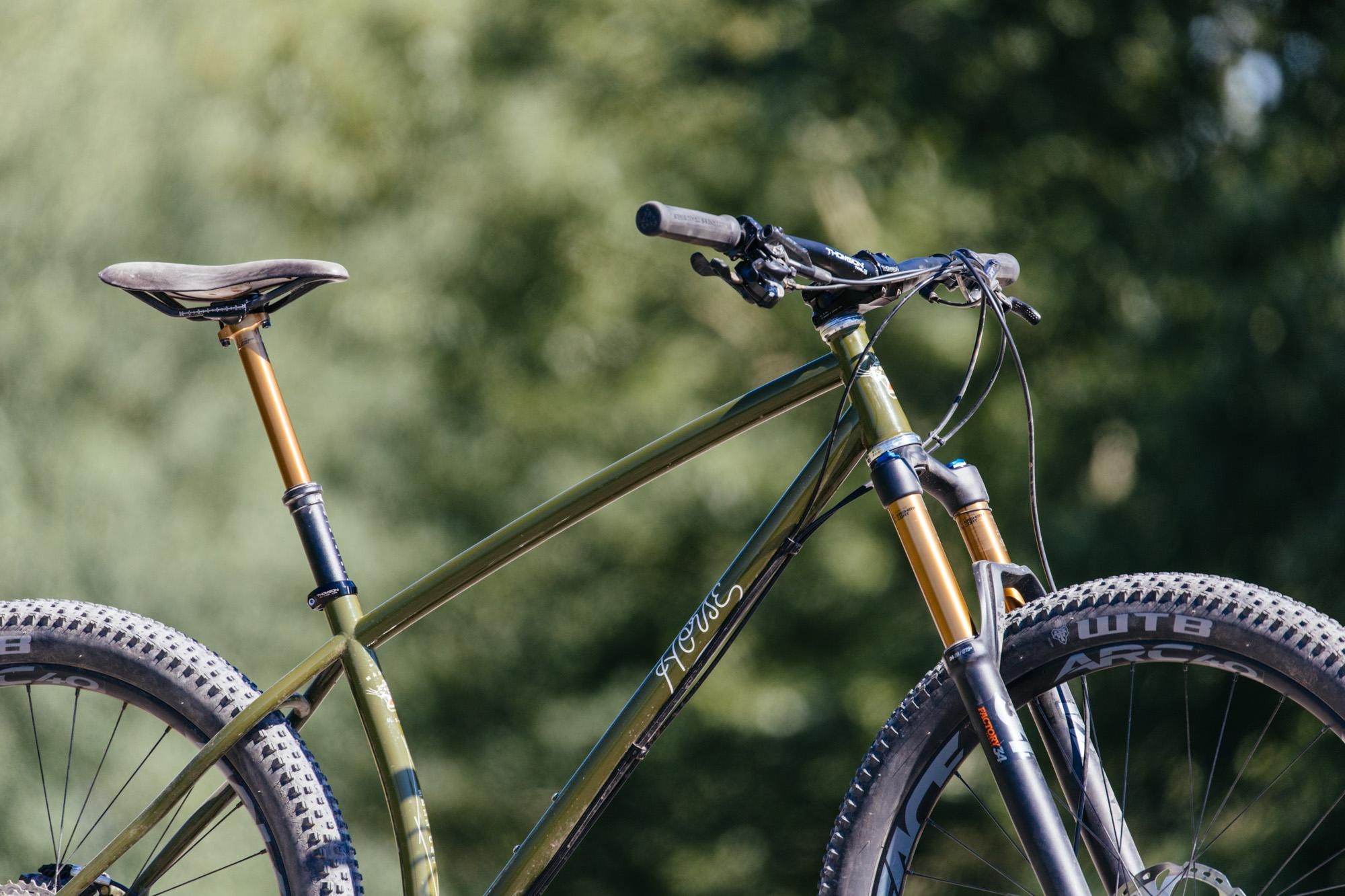 Builder's Camp in Bozeman: Horse Cycles Hell Cat Hardtail