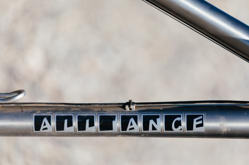 Builder's Camp in Bozeman: Alliance Titanium 29er