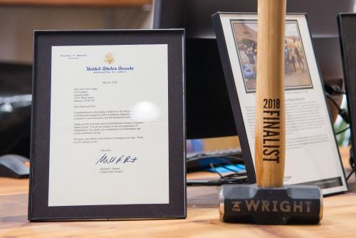 Wright award