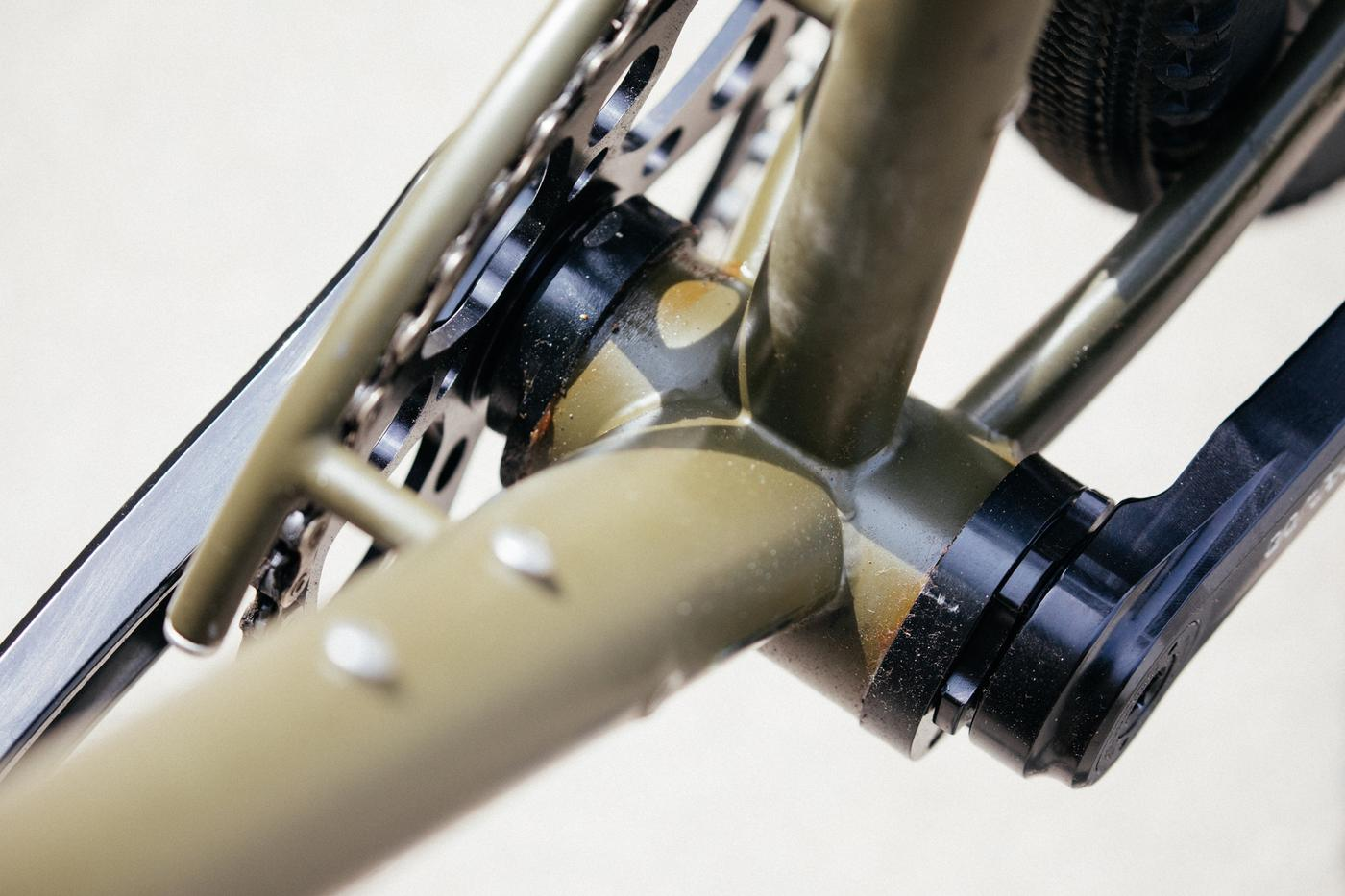 You Can Use a 30mm Crank Spindle with the BEER Components Oner PF30 Eccentric Bottom Bracket