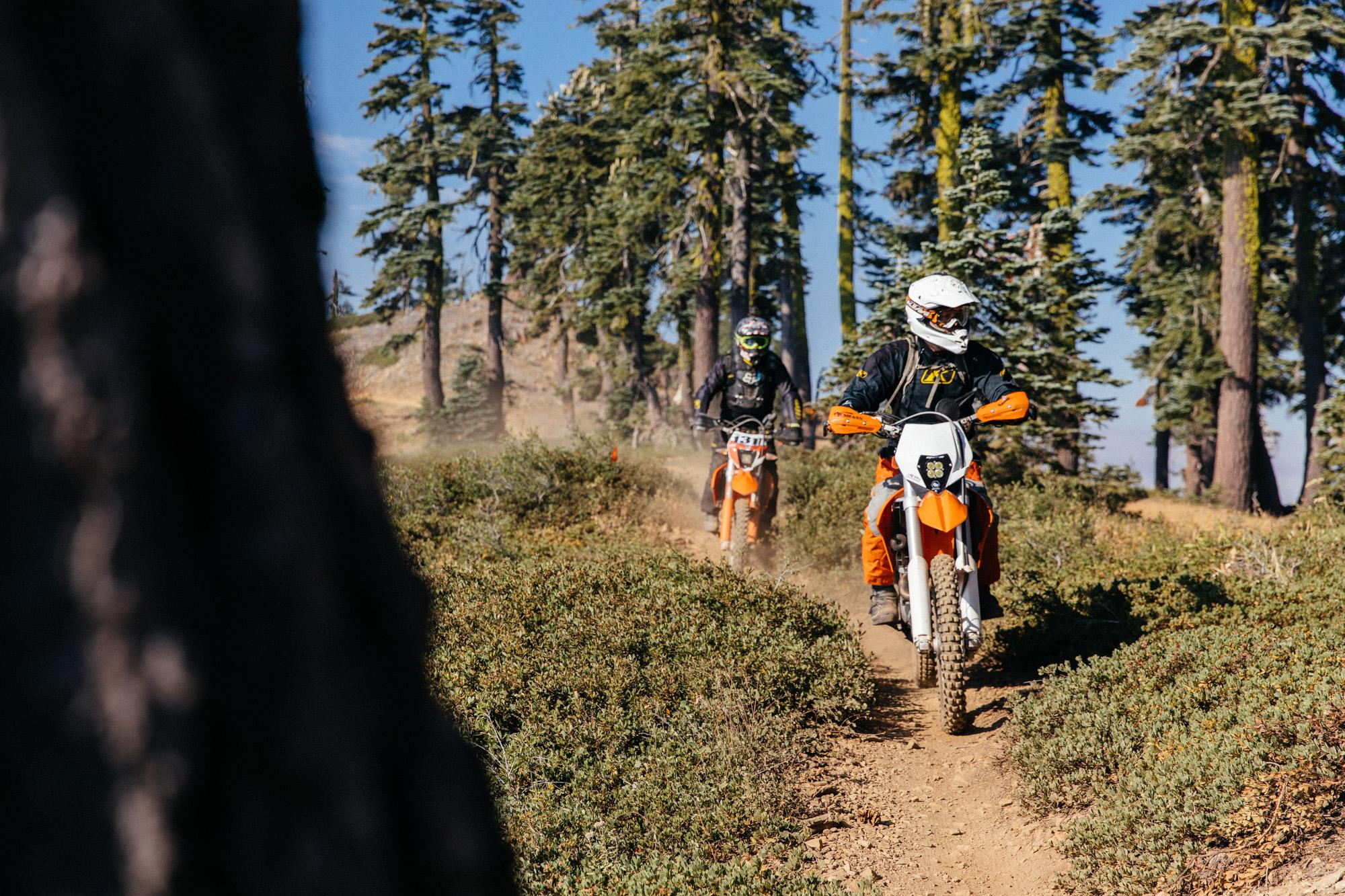 Moto crew - all the trails in the Lost Sierra are mixed-use. :-)