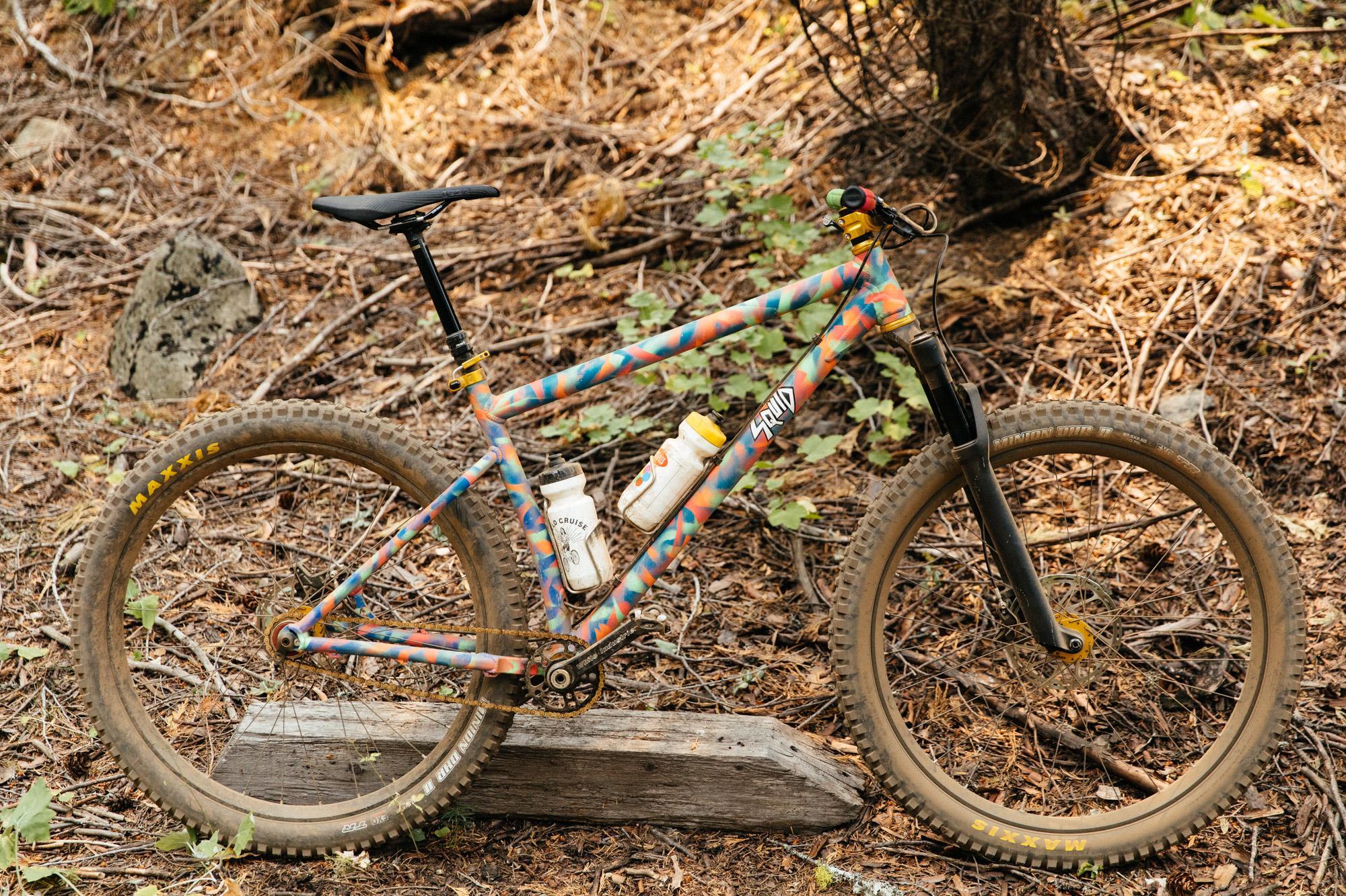 Solid bike.
