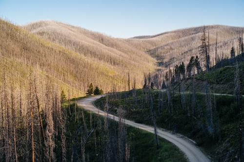 The road trip to Montana: Magruder Corridor in Idaho