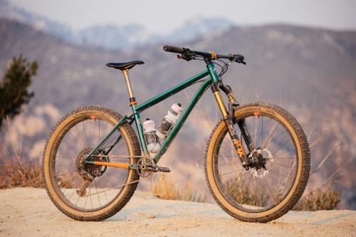 Jimmy and His Made in LA Dark Moon Fabrication 27.5+ Hardtail