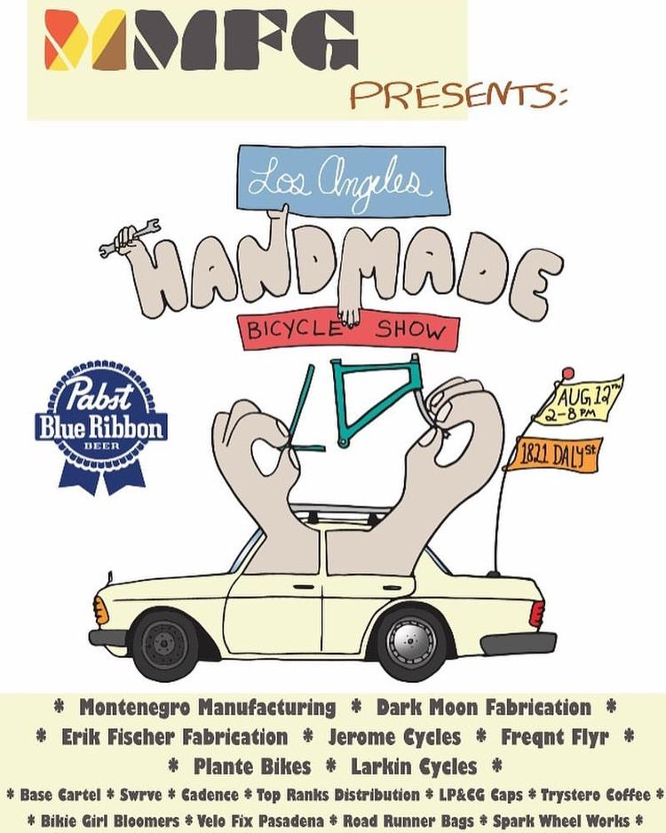 The Los Angeles Handmade Bike Show is This Sunday!