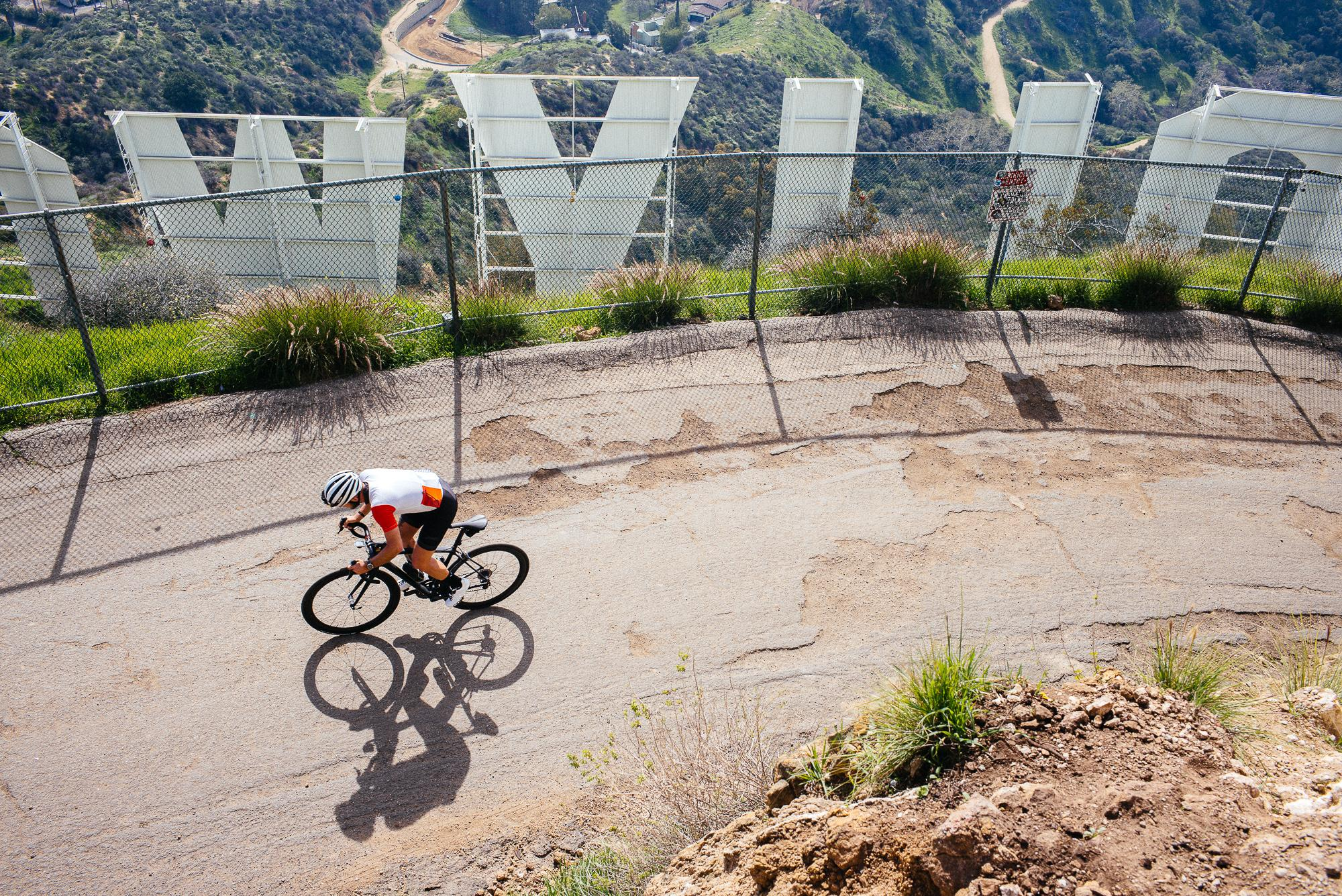The Ultimate Tourist Bike Ride in Los Angeles: Up to the Hollywood Sign