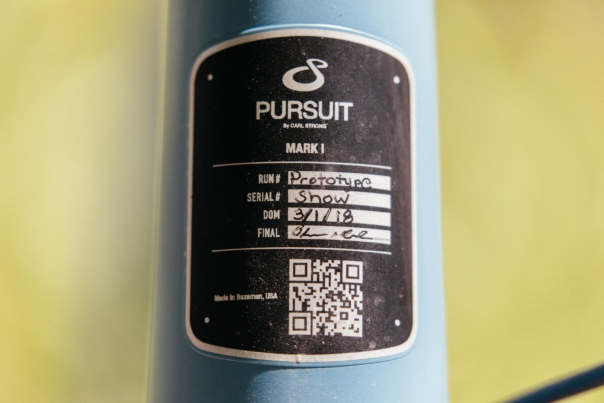 Pursuit Mark I