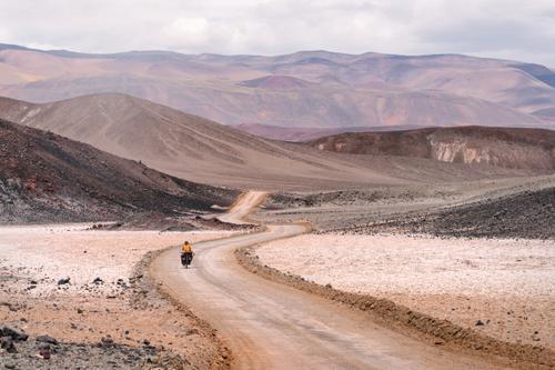 Beginning the climb into Quebrada Del Diablo