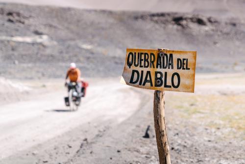 Leaving the Quebrada...