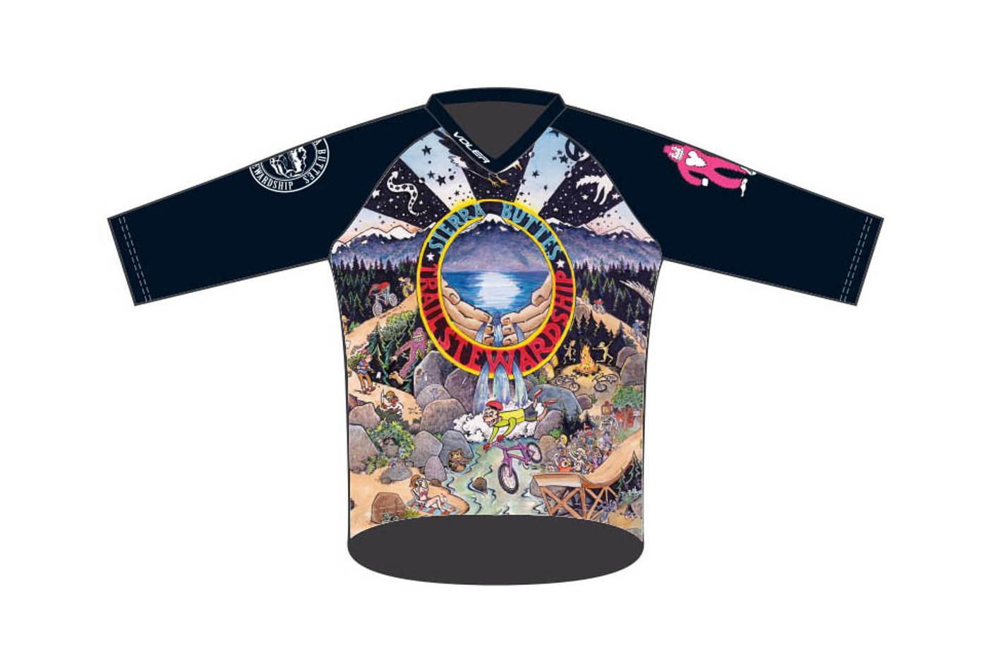 You Can Order One of Those Slick Sierra Buttes Trail Stewardship Jerseys from Voler