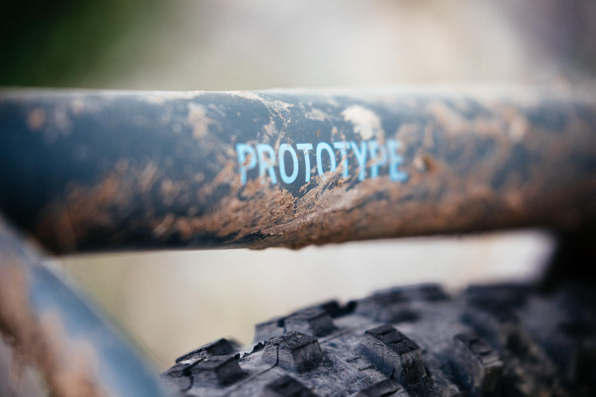 Tony's prototype we featured here on the site last month was lookin good and dirty!