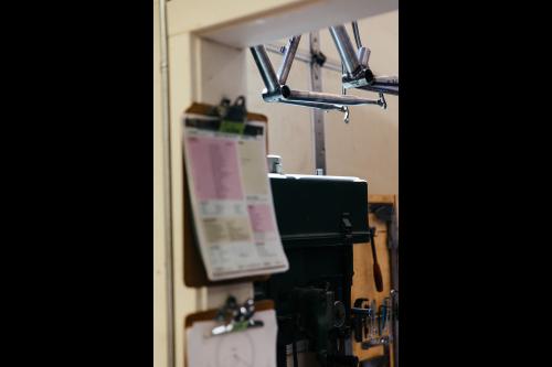 Inside the frame shop and COAT