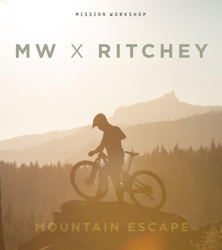 Ritchey and Mission Workshop Announce Mountain Escape Contest