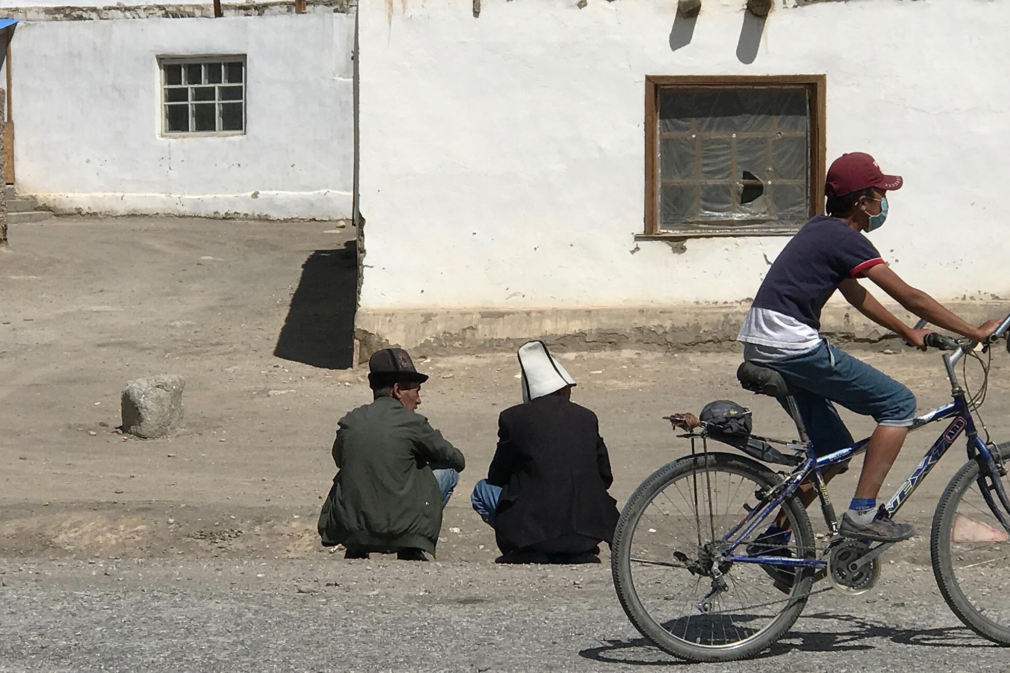 Street scene in Murghab.