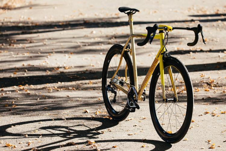 2018 Grinduro: An Autumnal Gold and Yellow Speedvagen Surprise Me Road