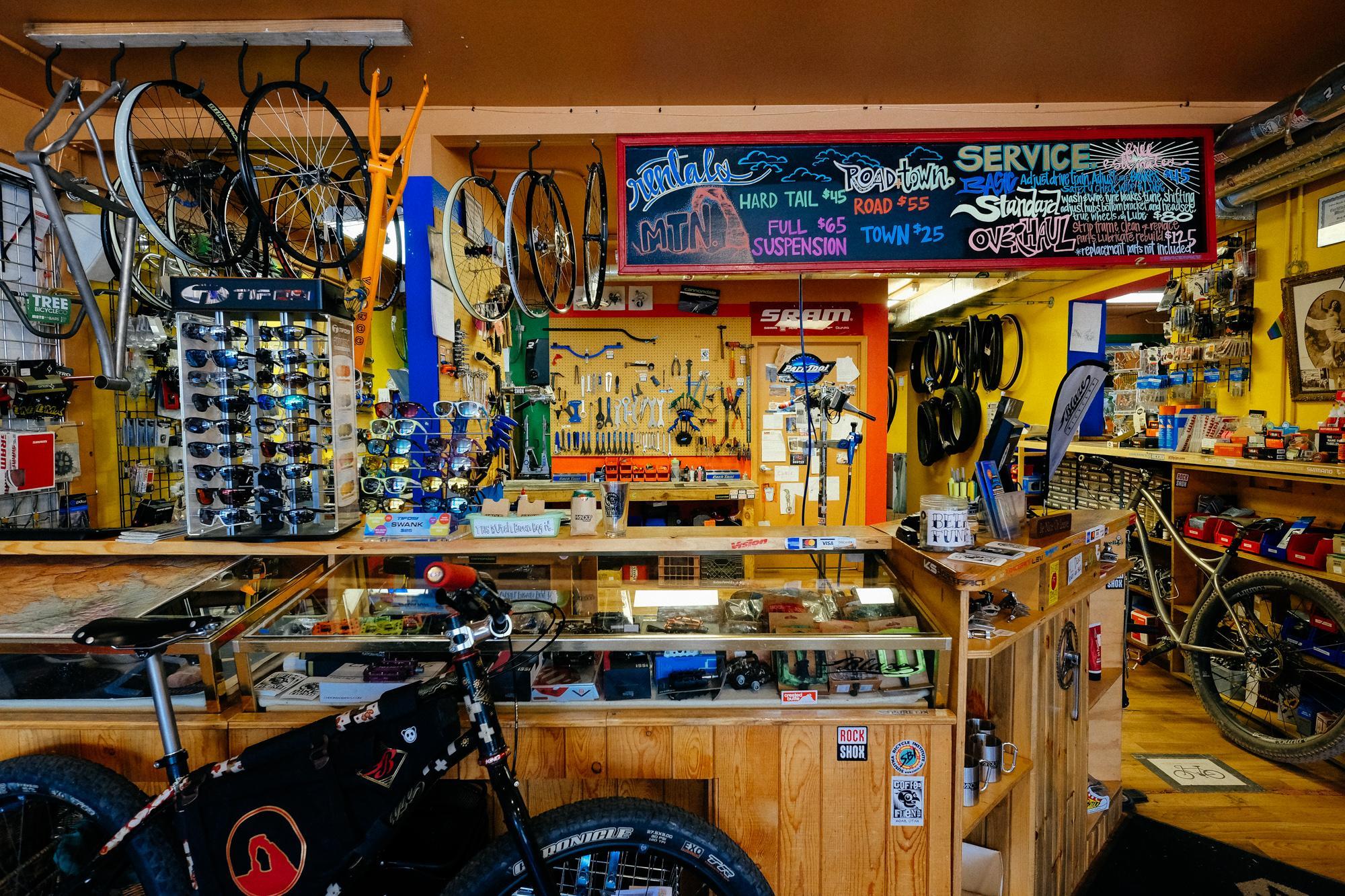 Bike Fiend Moab: Where the Locals get Their Fix!