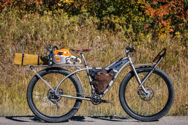 A True Trail Ute: Moots' 2013 NAHBS IMBA Workbike