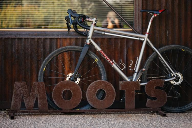 A Selection of Moots Employee Bikes!