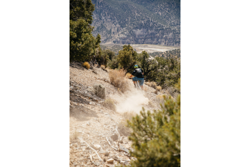 It's a steep and dusty one!