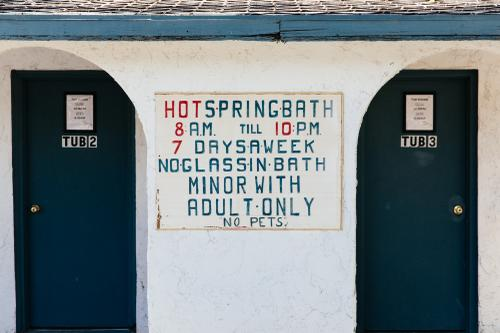 Bath rules
