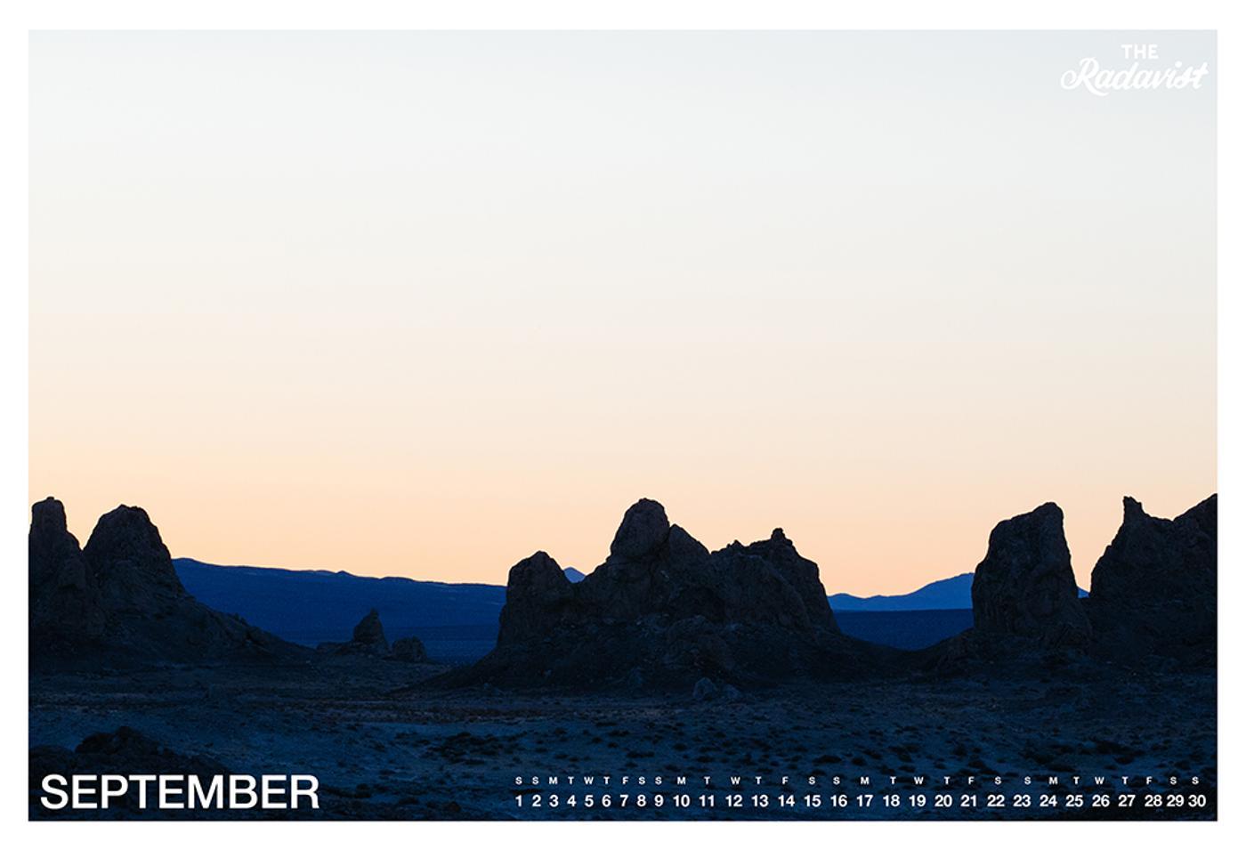 The Radavist 2018 Calendar: September