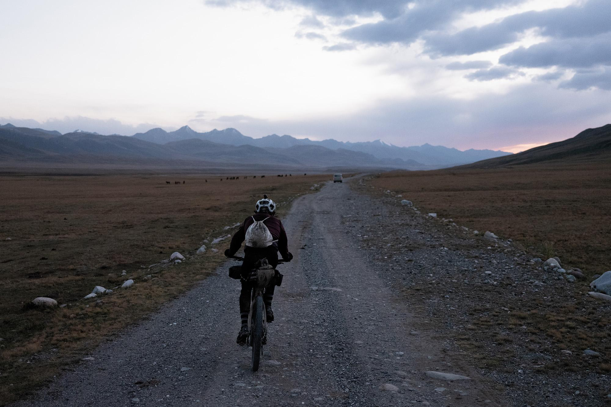 Melancholic Beauty on the Silk Road Mountain Race