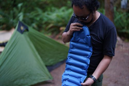 Klymit pillow Six Moon Tent