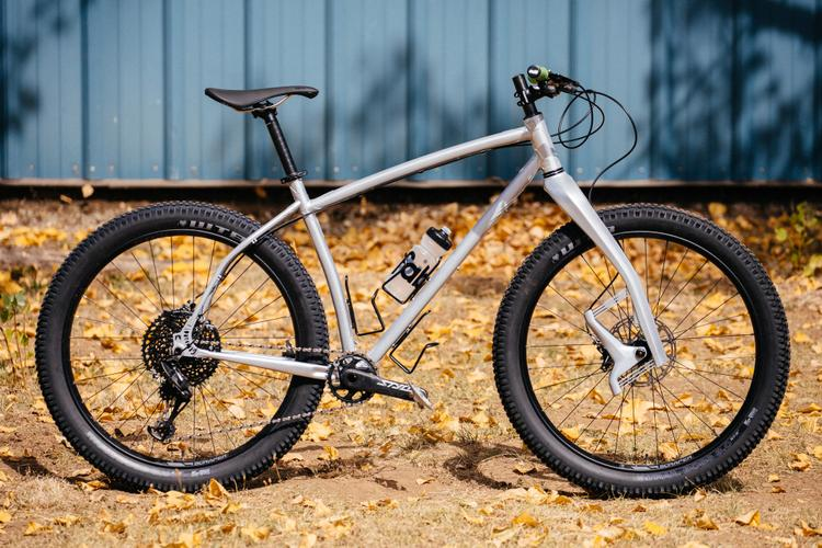 2018 Grinduro: Check out the Wild CNC Milled Lugwork on this Southpark Lauf MTB