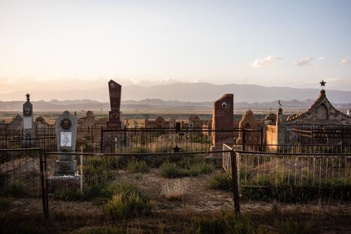 Kyrgz cemetary