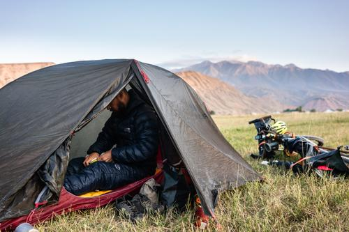 Camping in the wild of Kyrgyzstan is one of the most enjoyable parts