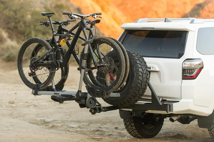 The UltraSwing Is a Spare Tire Carrier and Bike Rack Receiver For Your 4Runner